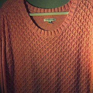 American Eagle Pink Pullover Sweater